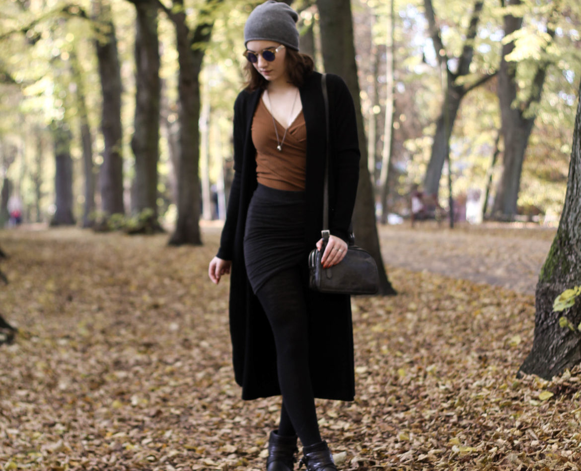 Autumn: The chic grey one
